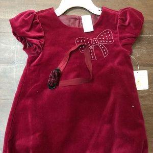 BNWT cuddly kid dress size 24m